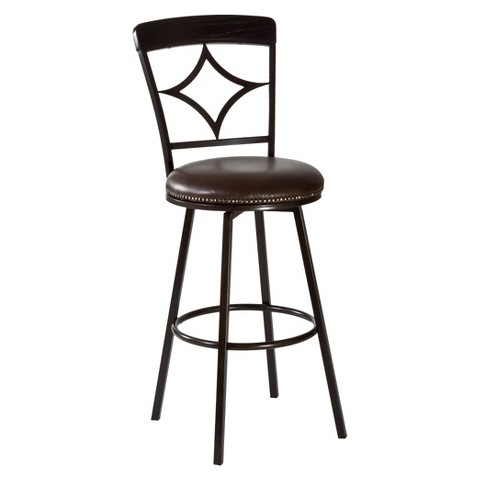 "Hillsdale Furniture Constance Swivel 26"" Counter Stool"