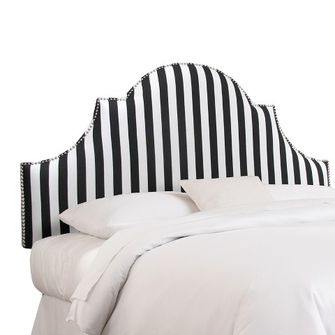 Canopy High Arch Nail Button Headboard Collection - Skyline Furniture