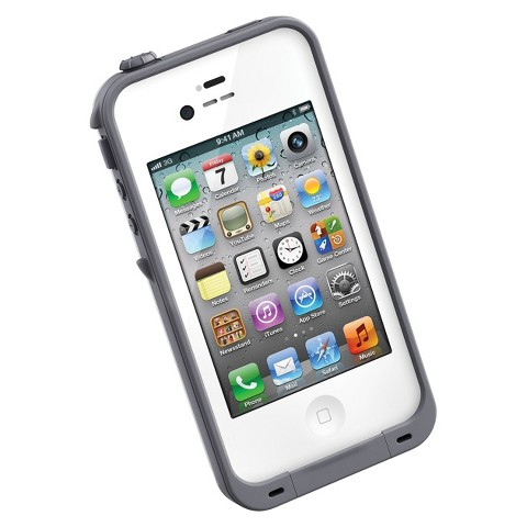 LifeProof Cell Phone Case for iPhone®4/4S - White (1001-02)