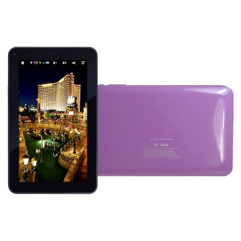 "Winnpad 7"" Dual Core Speed Tablet PC Touchscreen Google Play Android 4.2 Wi-Fi - Purple (M295PL)"