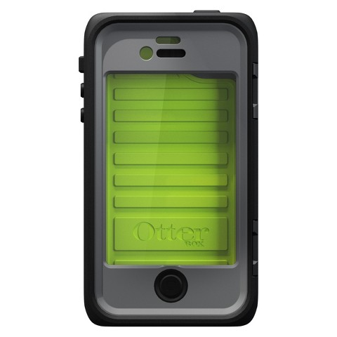 Otterbox Armor Cell Phone Case for iPhone®4/4S - Neon Green (77-25794P1)