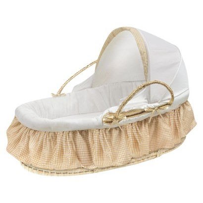Badger Basket Moses Basket - Beige
