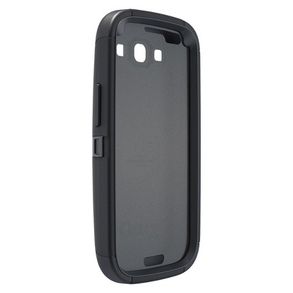 Otterbox Defender Cell Phone Case for Samsung Galaxy SIII - Black (77-21086P1)