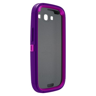 Otterbox Defender Cell Phone Case for Samsung Galaxy SIII - Purple (77-21380P1)