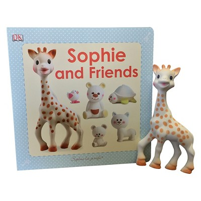 Sophie la Girafe Toy + Sophie and Friends Book