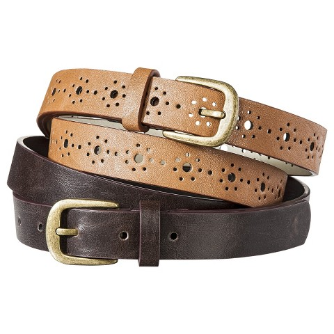 Mossimo Supply Co. Belt Set of 2 - Brown