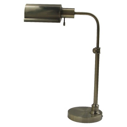 Threshold™ Brass Bankers Lamp (Includes CFL Bulb)
