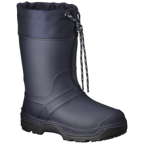 boy s snowmaster icestorm winter boots navy target