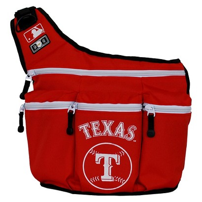 Diaper Dude Texas Rangers Diaper Bag
