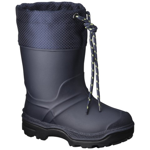 Toddler Boy's SnowMaster Icestorm Winter Boots - Navy