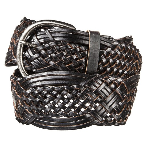 Merona® Macrame Braid Belt - Black