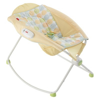 Fisher-Price Rock n' Play Sleeper - Yellow