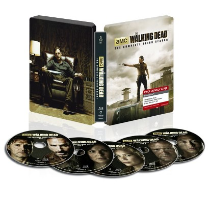 The Walking Dead Season 3 (Blu-ray)Steelbook - Only at Target