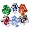 Luvable Friends™ Newborn Boys' 6 Pack Sock Gift Set - Blue 0-9 M