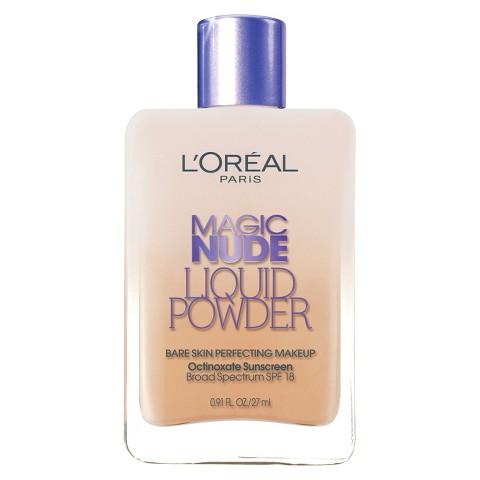 L'Oreal® Paris Magic Nude Liquid Powder Bare Skin Perfecting Makeup SPF 18