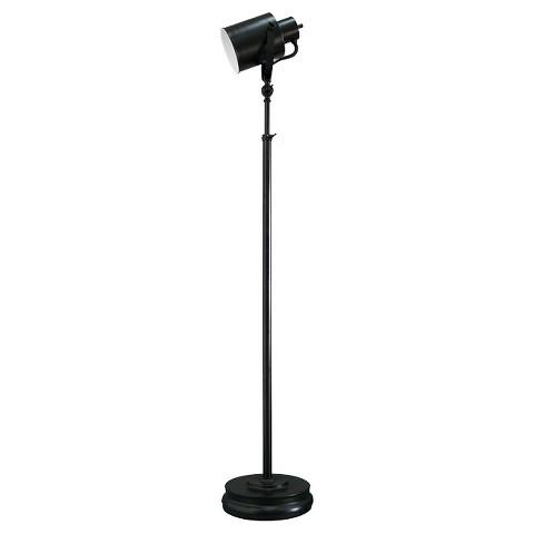 Threshold™ Studio Can Floor Lamp - Black (Includes CFL Bulb)