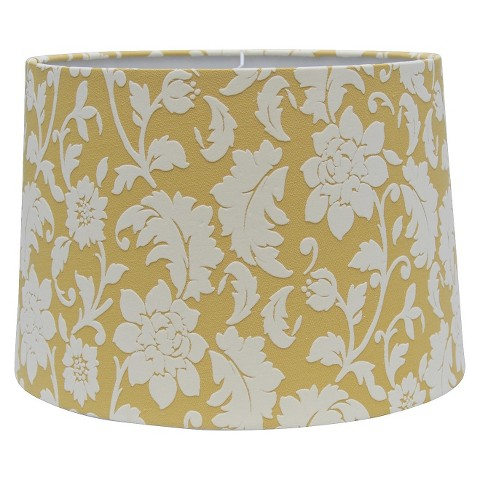 Threshold™ Flocked Floral Lamp Shade