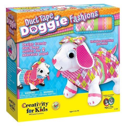 Creativity for Kids Duct Tape Doggie Fashions