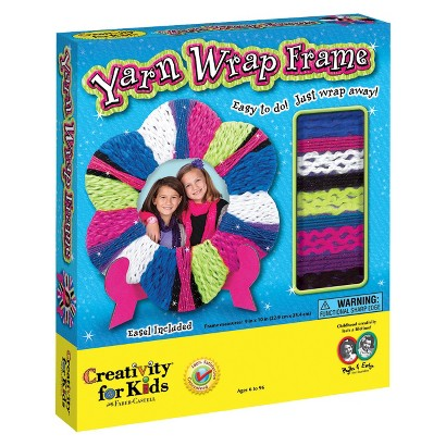 Creativity for Kids Yarn Wrap Frame
