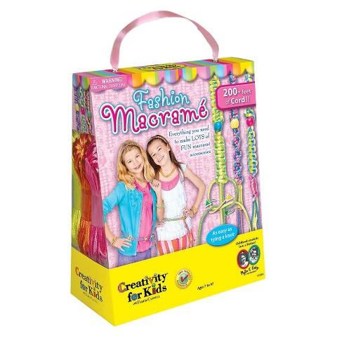 Creativity for Kids Fashion Macramé