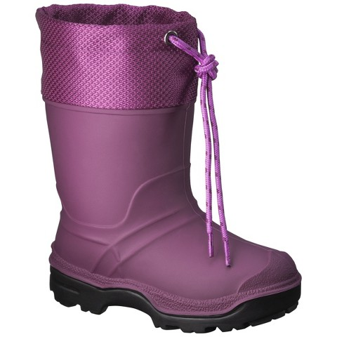 Toddler Girl Pink Snow Boots | NATIONAL SHERIFFS' ASSOCIATION