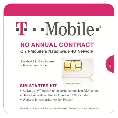 T-Mobile Sim Card Starter Kit