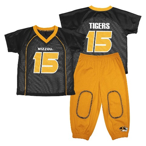 NCAA Missouri Tigers Toddler Jersey Set 2-pc.