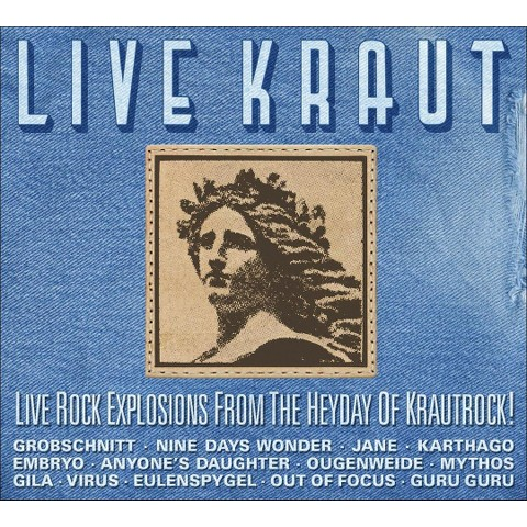Live Kraut: Live Rock Explosions from the Heyday of Krautrock!