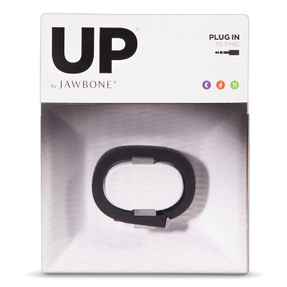 UP by Jawbone Fitness Wristband in Assorted Sizes - Onyx