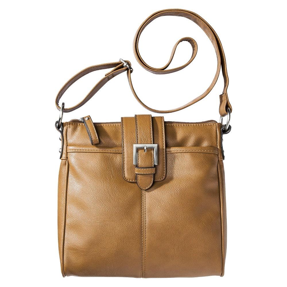 Merona Crossbody Handbag - Tan, Desert Tan