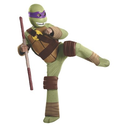 Boy's Teenage Mutant Ninja Turtles Donatello Deluxe Costume
