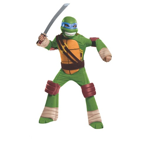 Boy's Teenage Mutant Ninja Turtles Leonardo Deluxe Costume