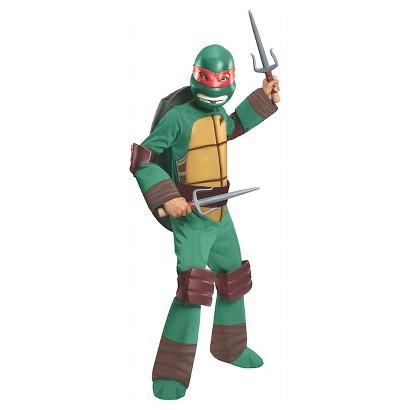 Boy's Teenage Mutant Ninja Turtles Raphael Deluxe Costume