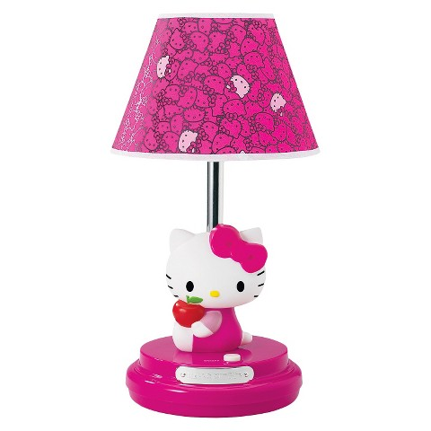 Hello Kitty Table Lamp with CFL Bulb