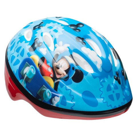 Bell Multicolored Mickey Helmet  - Toddler