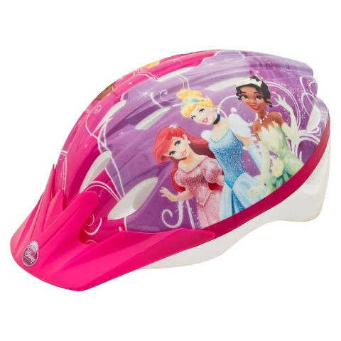 Bell Princess Helmet for Child - Pink/Purple