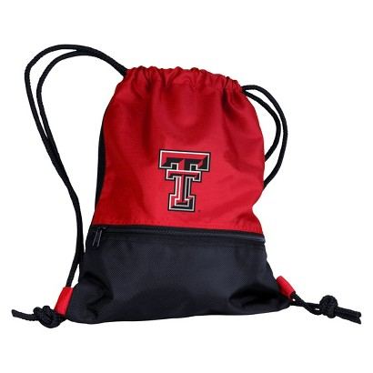 NCAA Draw String Backpack Pack Texas Tech