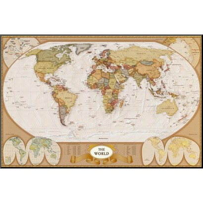 Art.com - World Antique Map