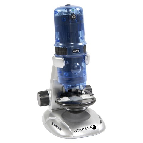 Celestron Amoeba Digital Microscope - Blue