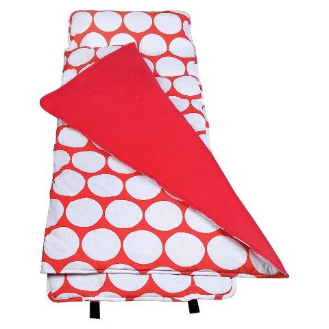 Wildkin Big Dot Original Nap Mat - Red/White