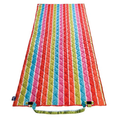 Wildkin Bright Stripes Beach Roll Up Mat