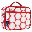 Wildkin Big Dot Lunch Box - Red/White