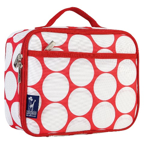 Wildkin Big Dot Lunch Box - Red\White