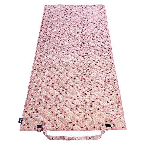 Wildkin Ladybug Beach Roll Up Mat - Pink