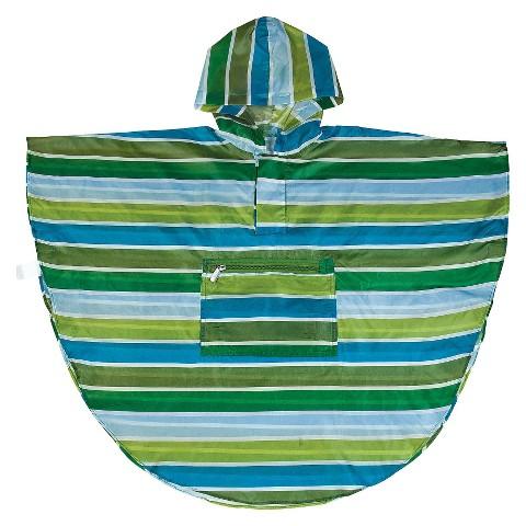 Cool Stripes Poncho (4-7)