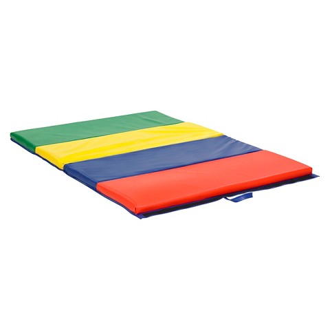 ECR4Kids® 4 Section Tumbling Mat - 4'x8'