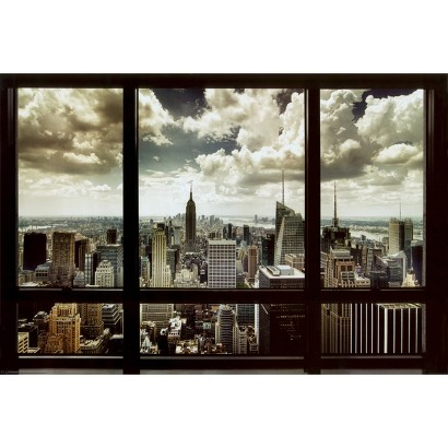Art.com - New York Window