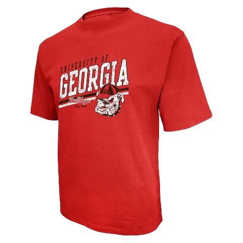 Men's Georgia Bulldogs T-Shirt - Red