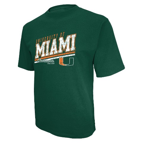 Men's Miami Hurricanes T-Shirt - Green
