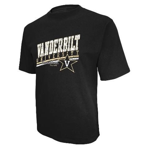 Men's Vanderbilt Commodores T-Shirt - Black